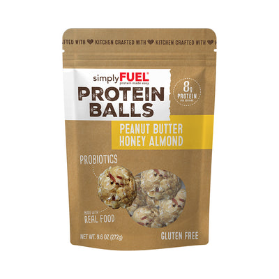 Peanut Butter Honey Almond Protein Balls (12 pack)