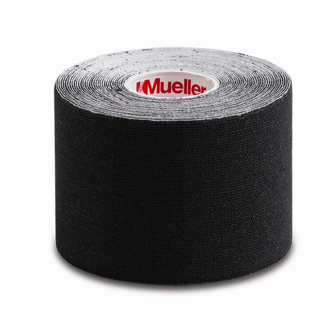 "Mueller Kinesiology Tape® Black, 2"" x 16.4 ft, 6 rolls/cs"