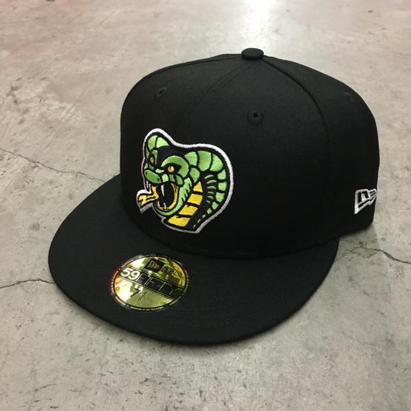 CHINATOWN COBRAS X NEW ERA 59/50 - BLACK