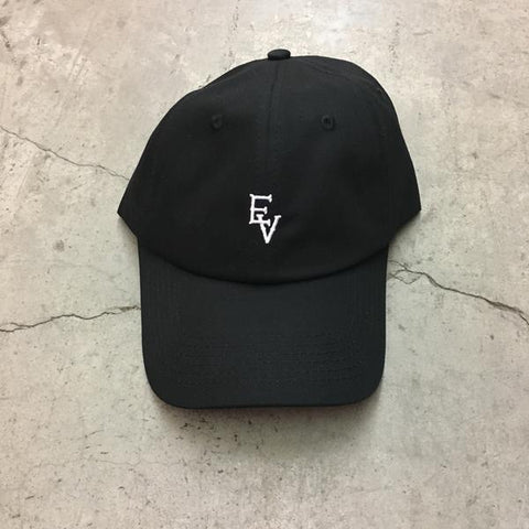 EV LOGO - DAD HAT - BLACK