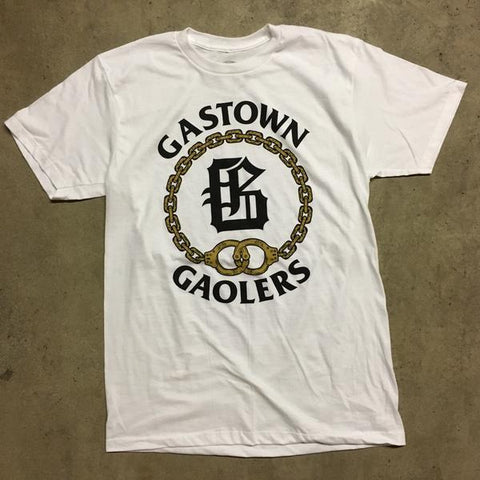 GASTOWN GAOLERS - CLUB TEE - WHITE