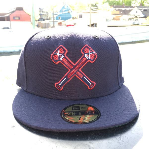 RAILTOWN SPIKERS X NEW ERA 59/50 - NAVY