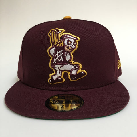 CLARK PARK BRAWLERS X NEW ERA 59/50 - ALTERNATE - CARDINAL