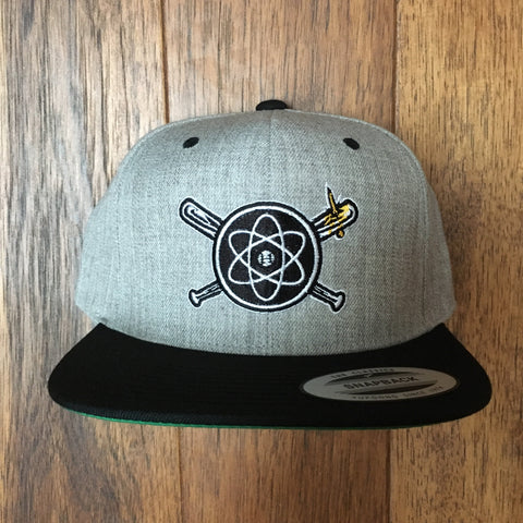 ISOTOPES - BAT & NAIL SNAPBACK - AWAY GREY