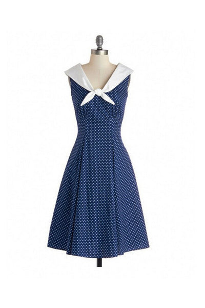 1950's Elegant Dress Sleeveless Dress For Women SD11