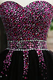 Sexy Sequins Beaded Sweetheart Prom Dress Homecoming Dress ED18
