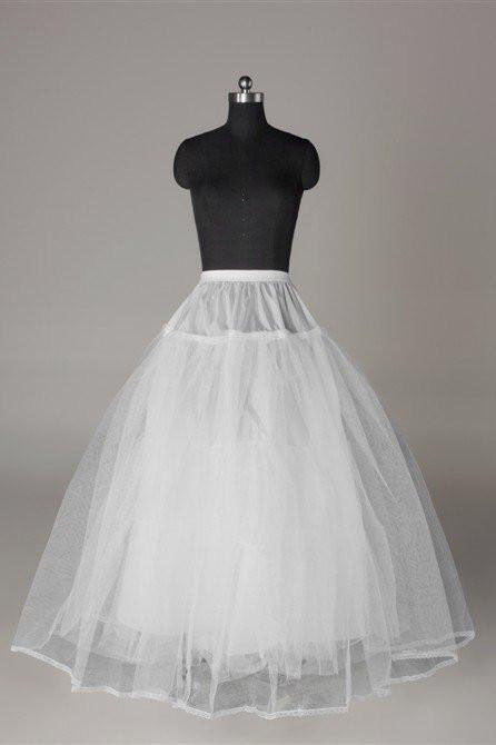 Floor Length Wedding Petticoat Accessories, Fashion Long Wedding Skirt