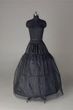 Long Wedding Petticoat Accessories Black Floor Length Underskirt