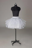 White Short Wedding Dress Petticoat Accessories Fashion White Underskirt