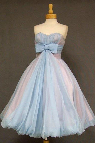8ce99c44201a A-line Sweetheart Homecoming Dress Cute Short Prom Dress with Bowknot N1859