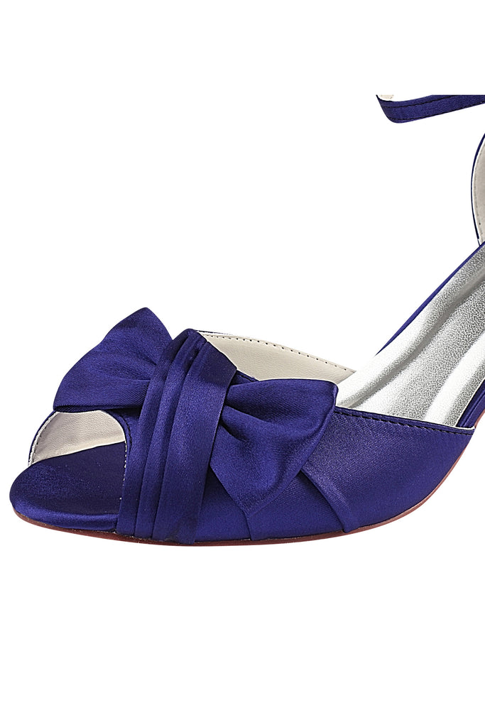 Purple High Heels Wedding Shoes, Peep Toe Wedding Party Shoes, Woman Shoes L-927