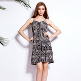 Newest Summer Women Stretch Cotton Summer sleeveless dress