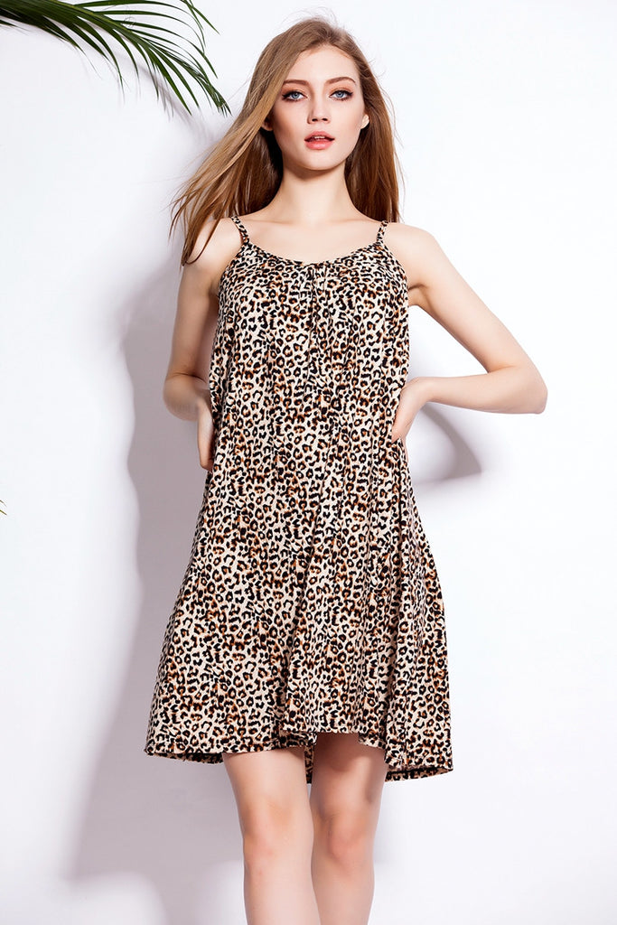 Newest Spring Summer Autumn Women Cotton Sleeveless dress