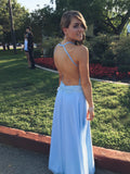 Charming Long Chiffon Prom Dress Evening Dress D01