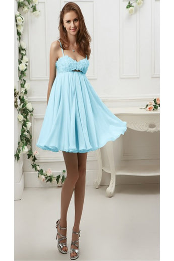 Chiffon Short/Mini Homecoming Dress Short Prom Dress 76