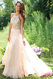 Halter A-Line Long Prom Dress Evening Dress E91