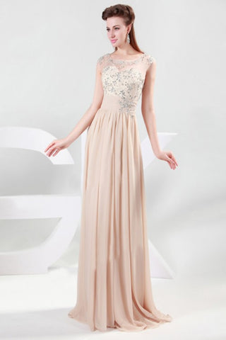 Charming Chiffon Long Prom Dress Evening Dress E29