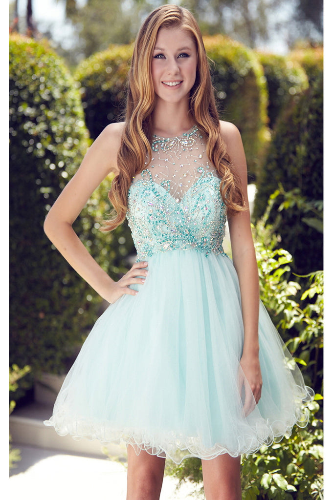 Beading Short/Mini Prom Dress Homecoming Dress ED25