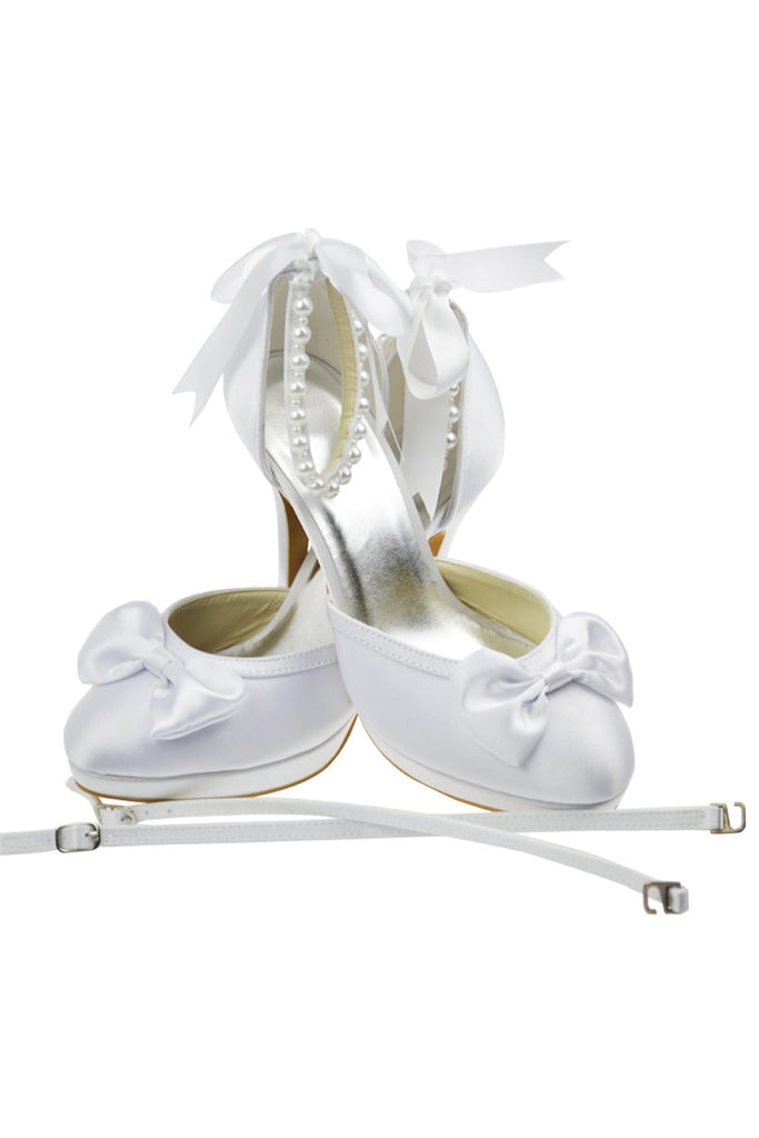 Hand Made Wedding Party Shoes Woman Heels On Sale L-016