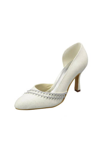 Newest Wedding Party Shoes Close Toe Woman heels L-019