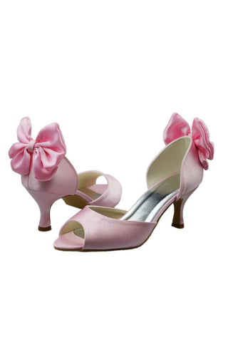 New Design Pink Woman Shoes Wedding Party Shoes L-091P