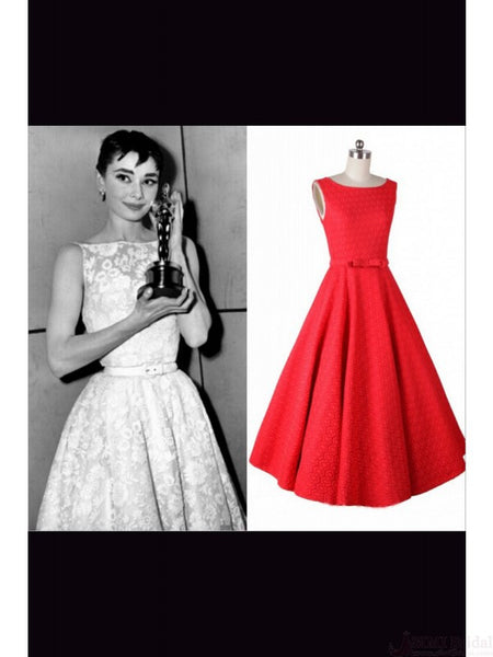 1950's Hepburn Dress Retro Sleeveless Dress SD03