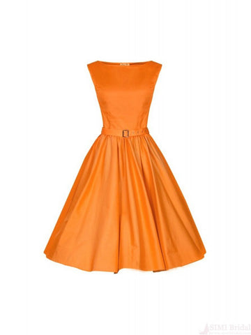 Free Shipping Vintage Square Neck Women's Dress SD04