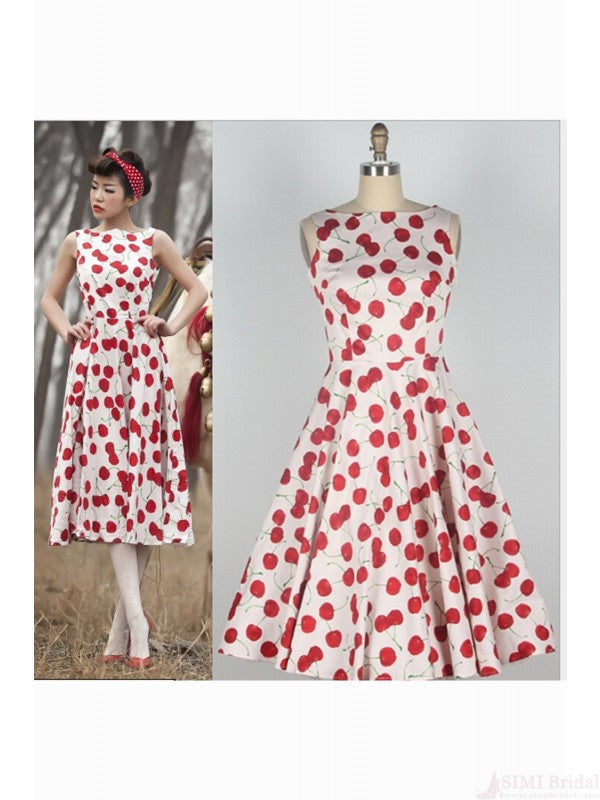 Stylish Sleeveless Floral Print Women's Dress SD07