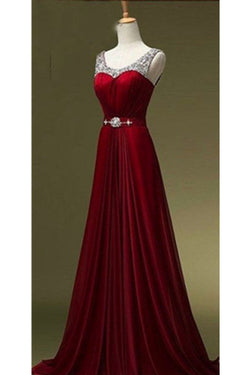 New Arrival Beading Long Prom Dress Evening Dress SD09