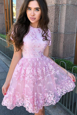 products/Short_Sleeves_Short_Pink_Homecoming_Dress_with_Appliques.jpg