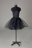 Fashion Short Wedding Dress Petticoat Accessories Black Short Underskirt
