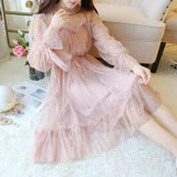 Sparkly Star Long Sleeves Tulle Homecoming Dresses, Charming Short Prom Dress N2003
