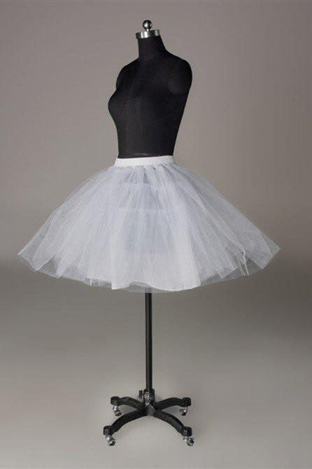 Fashion Short White Wedding Dress Petticoat Accessories White Short Underskirt P004