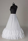 White Fashion Wedding Petticoat Accessories White Floor Length Underskirt