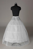 Fashion Wedding Petticoat Accessories White Beautiful Floor Length Wedding Underskirt P015