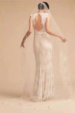 One Layer Tulle Bridal Veils with Lace Applique Edge, Ivory Wedding Veils with Comb