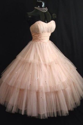 c9d4bcc678 Princess Sweetheart Tulle Knee Length Homecoming Dress