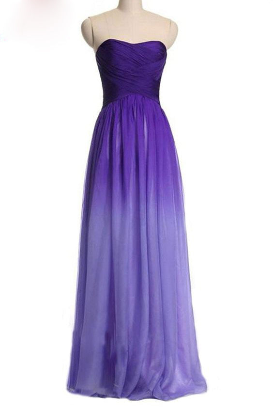 Ombre Prom Dresses | Chiffon Ombre Prom Dresses | Cheap Ombre Prom ...