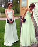 New Arrival Sweetheart Simple Bridesmaid Dresses E648
