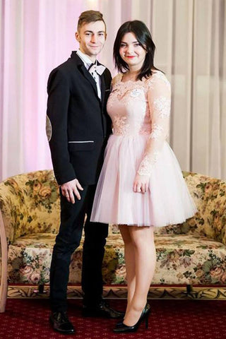 products/short_plus_size_long_sleeve_pink_tulle_prom_dress.jpg