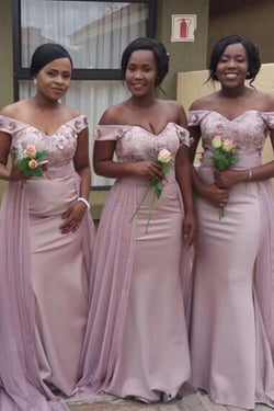 New Hot Mermaid Bridesmaid Dresses For Wedding, Memaid Maid Of Honor Gowns N1817