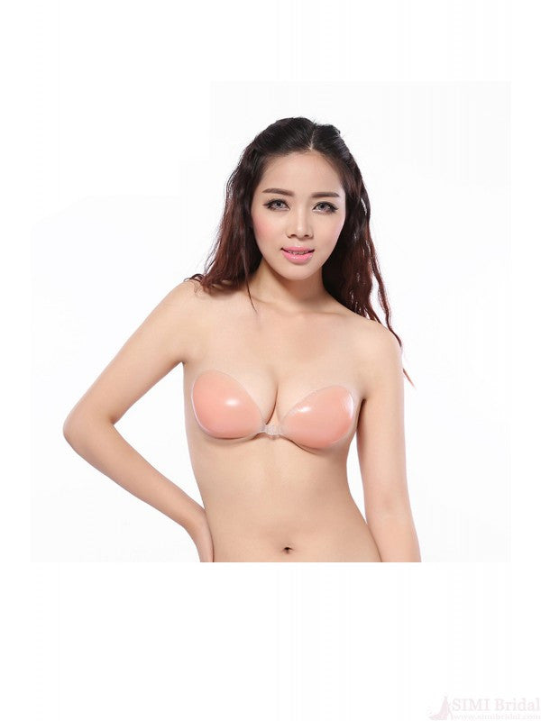 Sexy Stealth Bras Silicone Bras Backless Front Closure Bra