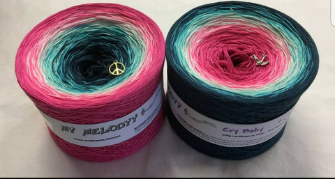 NEW!! Cry Baby 4 Ply