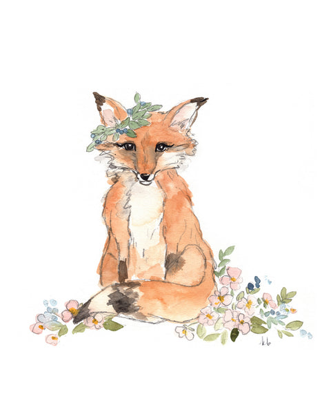 Woodland Animal Watercolors