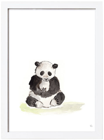 Panda Bear Watercolor