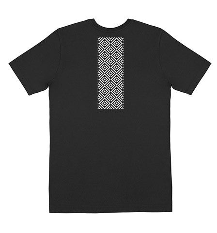 Reverse Pattern T-Shirt Black