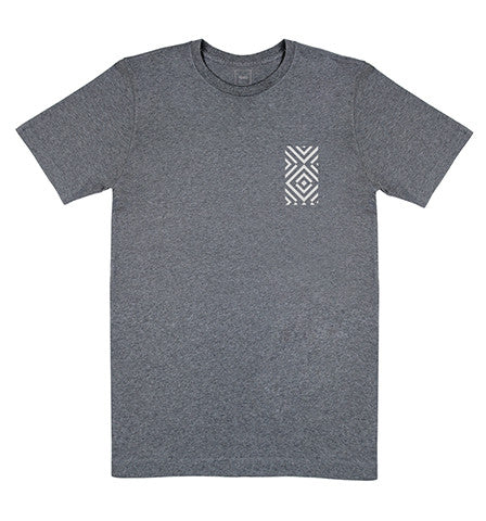 Patterned T-Shirt Grey