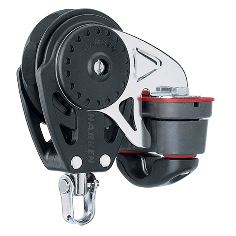 [HK-2627] HARKEN  57 mm Ratchamatic® Block — Swivel, Cam Cleat