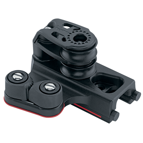 [HK-2743] HARKEN  22 mm End Control — Double Sheave, Cam Cleat, Set of 2