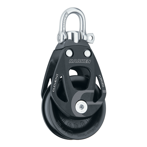 [HK-6290] HARKEN  80 mm Aluminum Element Block — Swivel